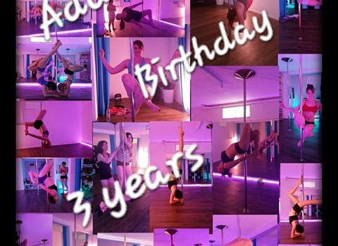 Addictive Pole Birthday 3 years